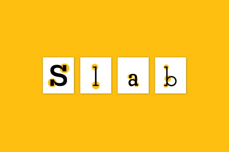 Best Slab Serif Fonts