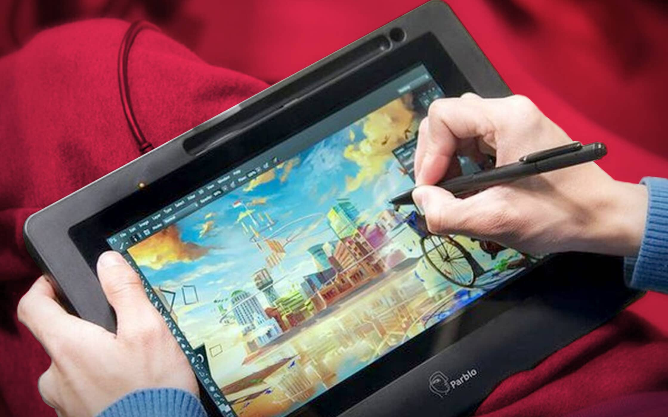 Cheap drawing tablet with screen 1