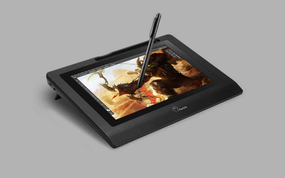Cheap drawing tablet with screen 3