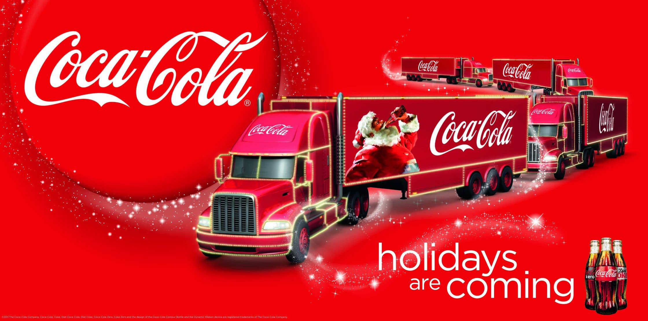 38078b1438dcb5 Born In The USA: Coca Cola, The Brand That Turned Christmas Red