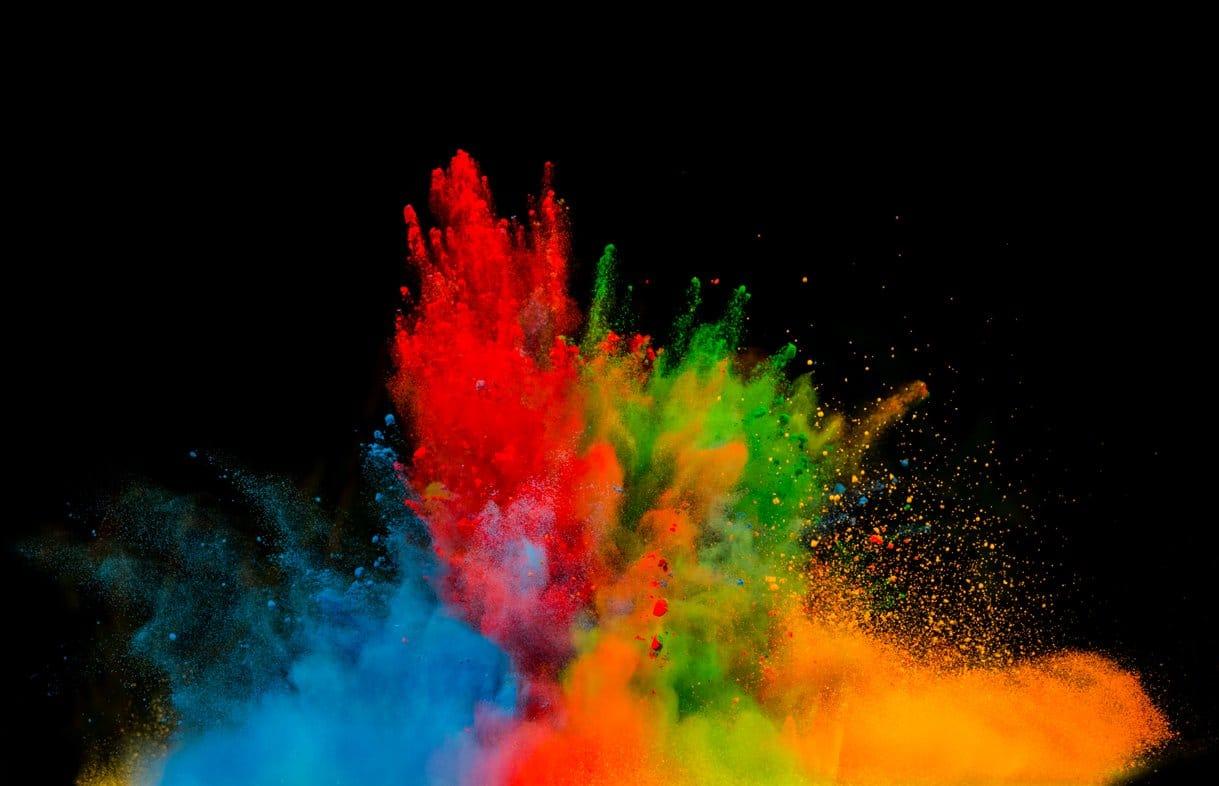Corporate colours image