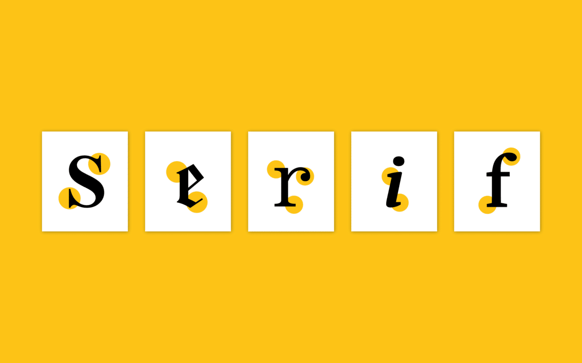 Difference Between Serif And Sans Serif