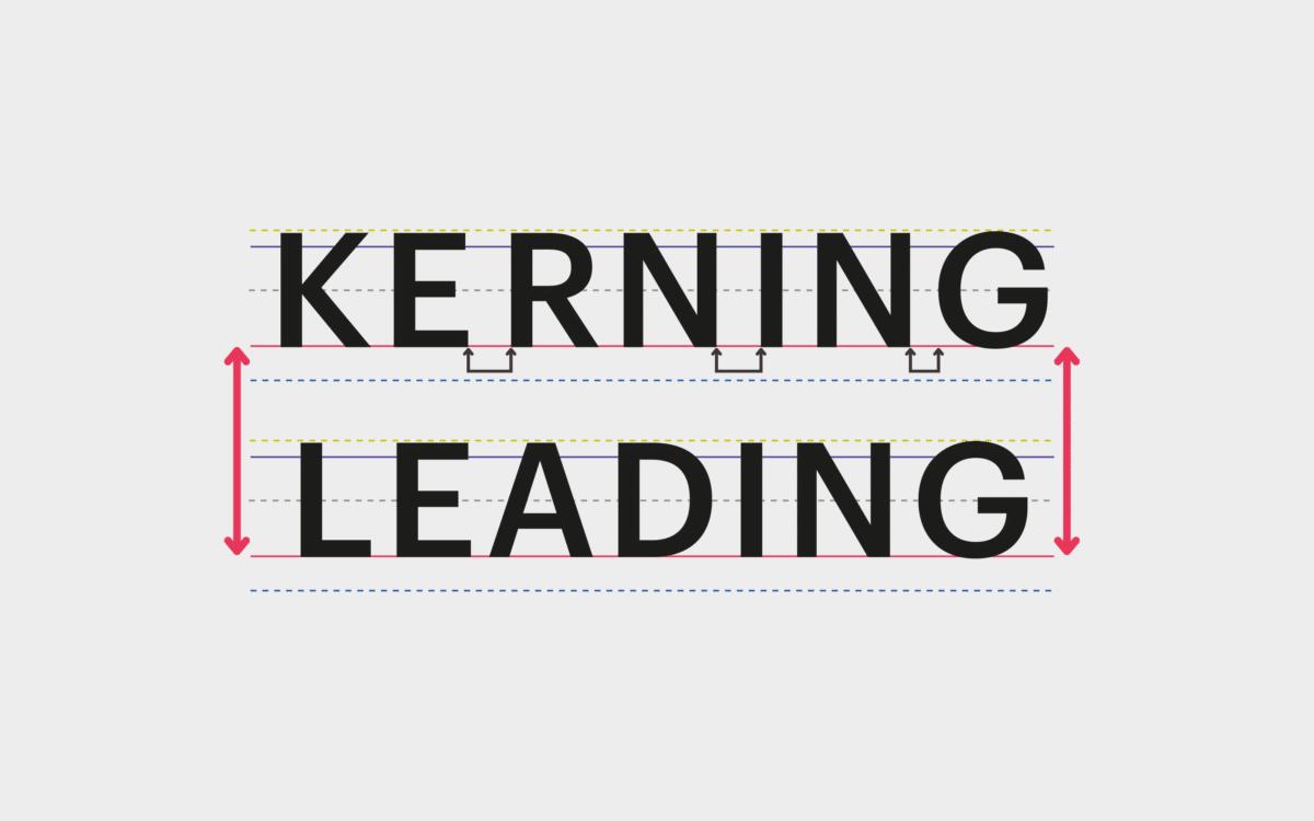 Leading vs Kerning