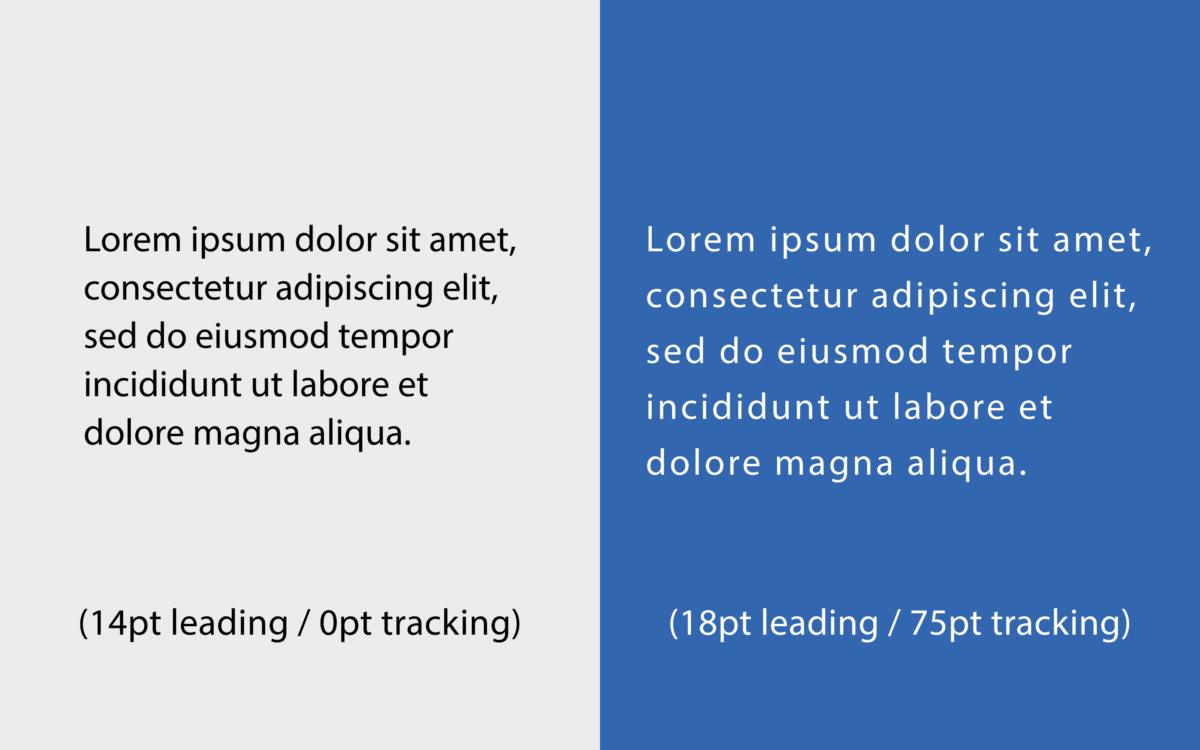 Leading vs Tracking