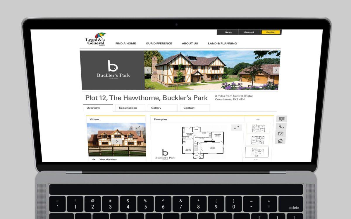 Legal & General Homes Website