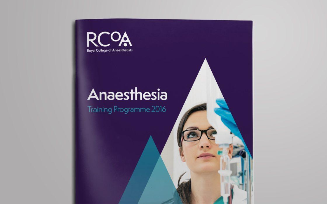 RCoA brochure cover
