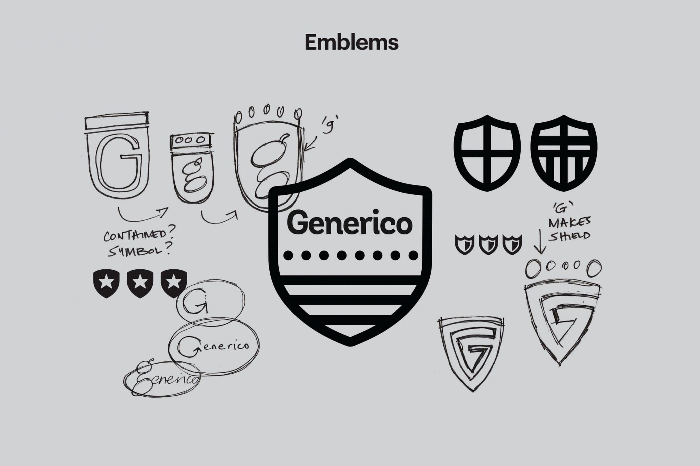 Try out different emblems to find the preferred ones.
